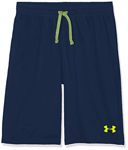 Under Armour Jungen Prototype Wordmark Short Kurze Hose, Blau, YLG