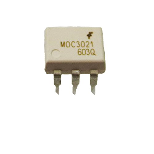 (10pcs) moc3021DIP66pin DIP random-phase optoisolators Triac driver uscita