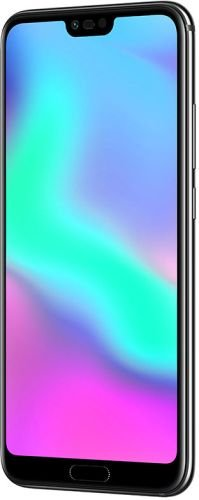 "Honor 10 Smartphone، 4G LTE، 64GB of memory، 4GB RAM، 5.8 display ""FHD +، Dual Camera 24 + 16MP، Black [إيطاليا]"