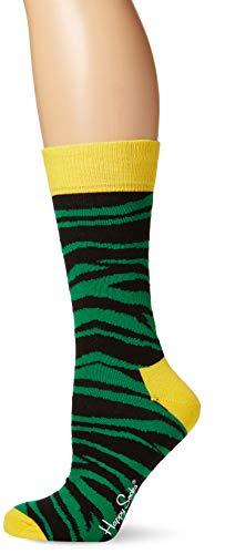 Kostüm Coole Arbeit Für - Happy Socks Unisex Erwachsene Coole bunte Socken mit Tiermotiven, grün, 37/40 DE (Herstellergröße: 36/40)