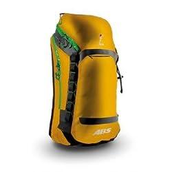 ABS Vario Zip-On 30 Liter Packsack, Farbe:Black orange