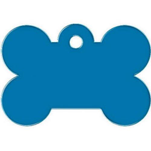 Kaba Ilco tag-bone-2l Bone Erkennungsmarke für Haustiere, groß, blau - Bone Trim Kit