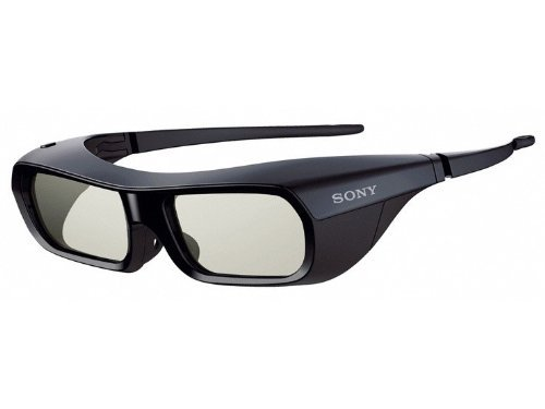 Sony 3d Active Eyewear TDG-BR250/B Rechargeable Adult Glasses