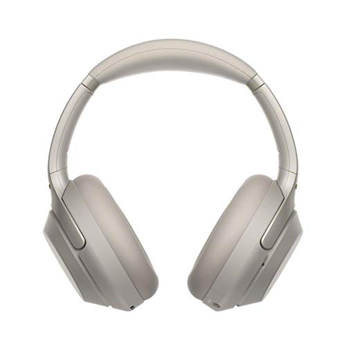 Sony WH-1000XM3 Bluetooth Noise Cancelling Kopfhörer (30h Akkulaufzeit, Touch Sensor, Headphones Connect App, Schnellladefunktion) silber - 5