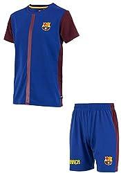 Ensemble Maillot + short Barça - Collection officielle FC BARCELONE - Taille  enfant garçon 8 ans 8f2d12c1fce
