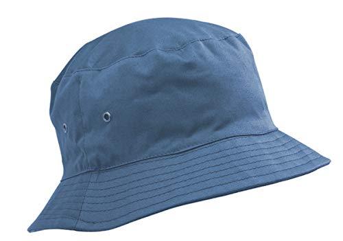Adventure Togs Fischerhut/Sonnenhut für Kinder-5-11 Jahre, für Jungen & Mädchen, 100% Baumwolle, Gr. 53 cm, himmelblau
