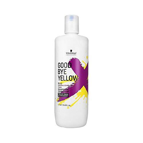 Schwarzkopf Goodbye Yellow Shampoo 1000 ml Neutralisiert