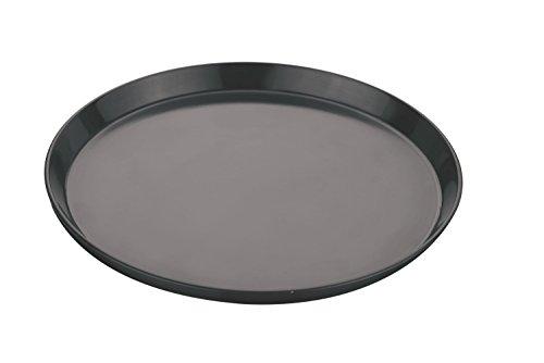 ROYALS Teflon Non Stick Pizza Pan, Black(8-inch)