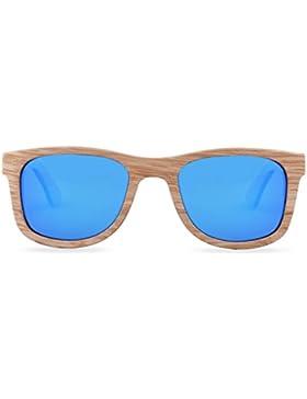 Woodiful - Gafas de sol - para hombre marrón marrón M