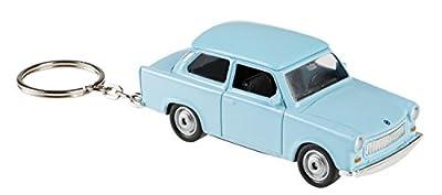 Welly 10077877 - Schlüsselanhänger Trabant, Fahrzeug, blau von III