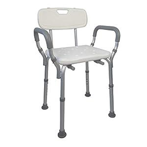 Mobiclinic, Puerto, Silla o taburete de baño, de ducha, ortopédica, ayuda para baño para ancianos y discapacitados…
