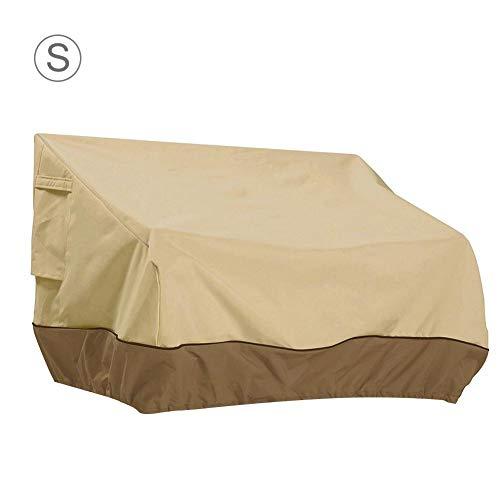 Funda de Banco Duradera protección contra el Polvo Cubierta de sofá protección UV, Tela Oxford Tela Resistente Duradera y Resistente, Funda de sofá de Dos plazas para Exteriores clásica, Cozy-TT