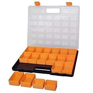 Plastic Assortment Box with 18 removable Inserts