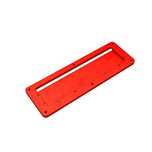 ulofpc Holzbearbeitung Tischkreissäge Zubehör Professionelle elektrische Kreissäge Flip Cover Aluminiumlegierung Abdeckung