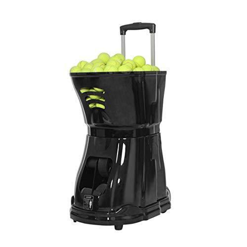 Tragbare Tennisball-Serviermaschine | Versenkbare Spurstangenkonstruktion, Lagerung Von Kugelrahmen Mit Großer Kapazität | Programmierbares Design, Große Reichweite Und Leistungsstark | Mehrere Traini