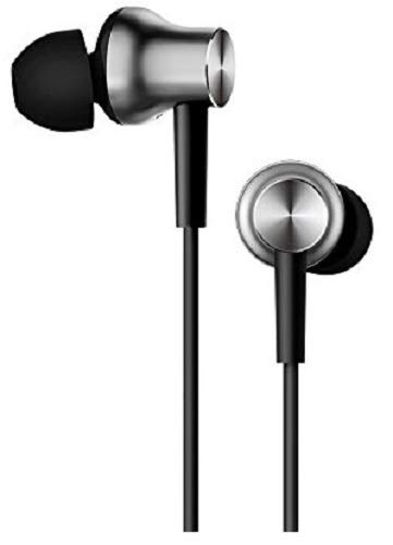 Mi Earphones with Dynamic bass, Music Control and mic (Silver)