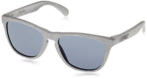 Oakley Herren Sonnenbrille OO9013-43 Frogskins, Grau (Smoke/Grey), one size