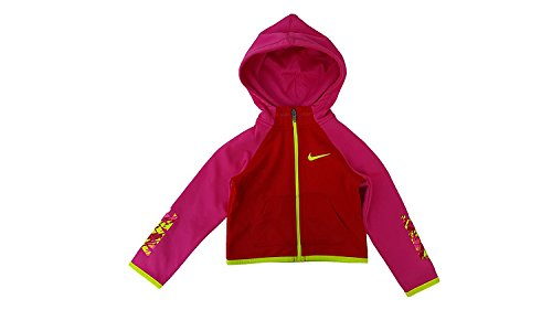 Toddler Full Zip Hoodie (Nike Little Girls' Toddler Therma Dri-Fit Hoodie (Sizes 2T - 4T))