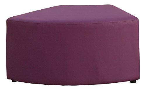 VIVACE Wave - Ottoman, 77 x 48 x 40 cm 77 x 48 x 40 cm Violet