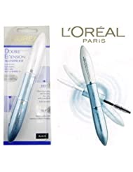 L'Oreal Double Extension Waterproof Mascara -Black (Uncarded)