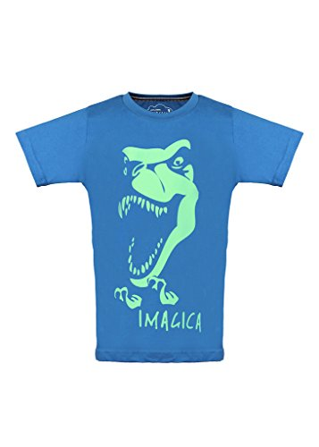 Imagica Printed Boy's Round Neck T-Shirt  available at amazon for Rs.280