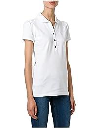 2bc784c8e4c1 BURBERRY - Polo pour Femme YSM70254 - blanc