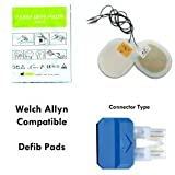 F7955 - Compatible Defib Pads - Adult - For Welch Allyn (AED-10)/Fiab Defibs