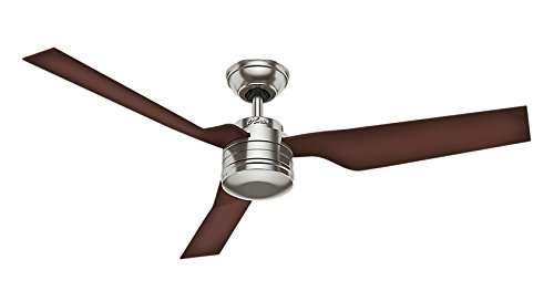 Hunter Fan 24230 Flight Ventilateur de plafond 132 cm Nickel Brossé