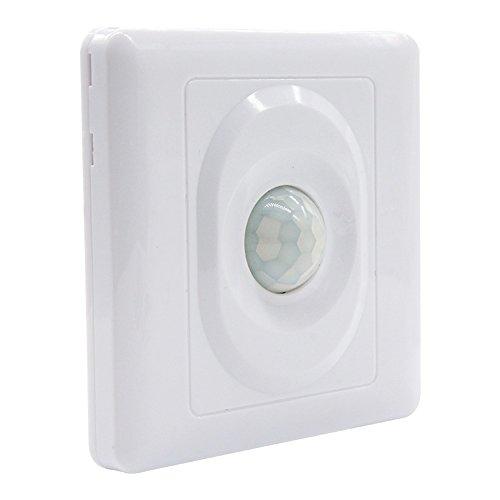 NEW PIR Infrarot Auto Bewegungsmelder Lichtschalter AC 110-250 V Energiesparlampe Auf/Aus Lichtschalter LED-Licht 5-8 mt Erkennung Entfernung