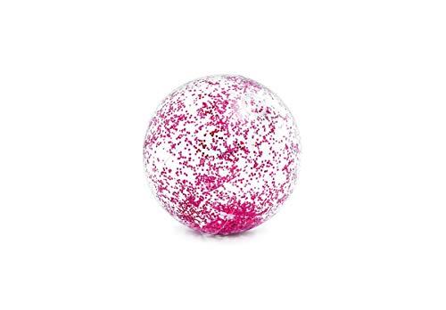 Wasserball-zubehör (Intex Pool Zubehör Glitzer Wasserball transparent Ø71cm pink)