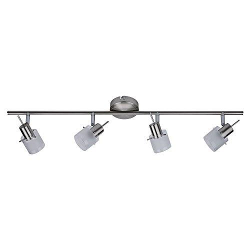 Biard 'Vermont' Lámpara de Techo de 4 Focos - Aplique Riel Orientable...