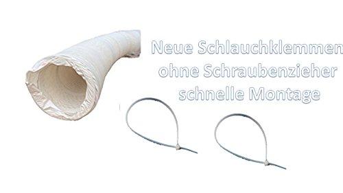 Wäschetrockner Trockner Vent Schlauch 4 METER X 4