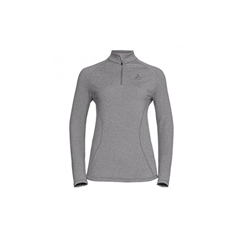 Odlo Damen Midlayer 1/2 Zip Glade Pullover & Sweatshirts grey melange with print FW17