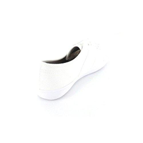 ESPRIT Italia Lace Up 036EK1W046100 Damen Schnürschuh Weiß