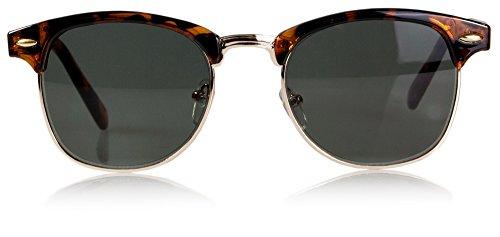 Lesehilfe mit getönten Gläsern – Lesebrille inkl. Brillenetui und Mikrofasertuch –...
