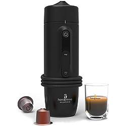 Handpresso Auto Capsule 48309 Machine expresso portable à Capsule pour voiture 12V / 24V