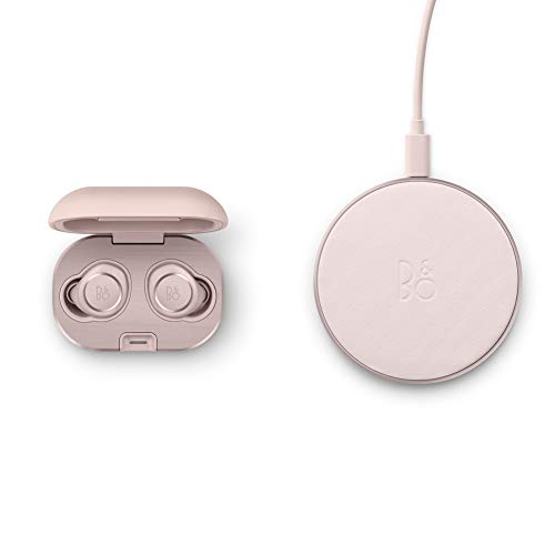 Bang & Olufsen Beoplay E8 2.0 - 100% kabellose Bluetooth-Earbuds und Ladeschale mit Wireless Charging Pad, rosa (Rosa Earbuds Wireless)