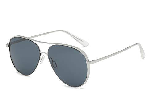 Klassisches Retro-Outdoor-EssentialRahmenlose Sonnenbrille Farbfilm Froschspiegel Sonnenbrille-grau