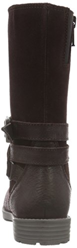 Superfit Heel, Bottes hautes avec doublure froide fille Rouge - Rot (MAHOGANY 66)