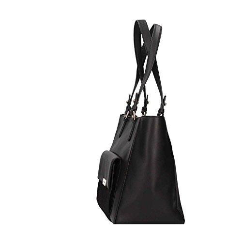 Karl Lagerfeld 77KW3021 A999 Shopping Frau Schwarz