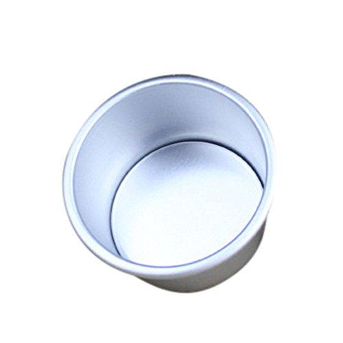 Ouneed- Kuchenform Runden Backformen für Torte Antihaftbeschichtung, Backform mit Boden abnehmbar, runde Kuchenform mit Flachboden Cake Pans / 1 Stück (2
