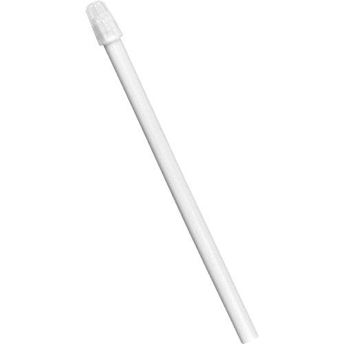 wellsamed wellsaliva Speichelsauger, Einmal Dentalsauger, Einweg Dental Absauger, Sauger mit abnehmbarer Kappe, Länge 12,5 cm, weiß