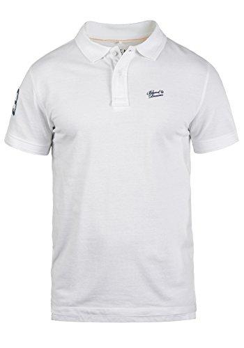 BLEND 703096ME Dave Poloshirt, Größe:L;Farbe:White (70002)