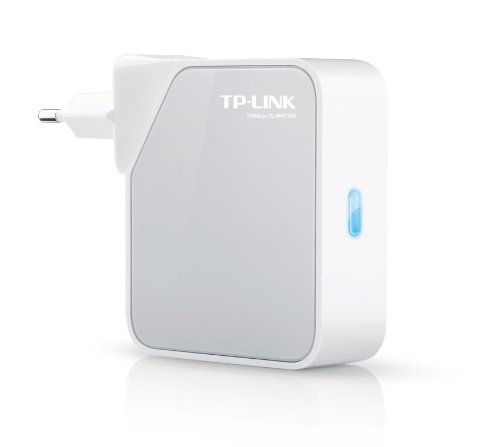 Pocket Hotspot (TP-Link TL-WR710N WLAN N Nano Pocket AP/Router/TV Adapter/Repeater (für Anschluss an Kabel-/DSL-/Glasfasermodem 150Mbit/s, 2 Ethernet Ports, USB, Wandmontage))