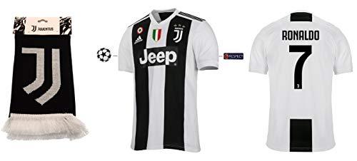 Juventus Turin Trikot Kinder 2018-2019 Home UCL - Ronaldo 7 (140)