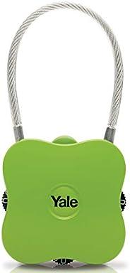 Yale Yuvarlak Köşeli Şifreli Asma Kilit / Yeşil / Yp4/41/350/1G