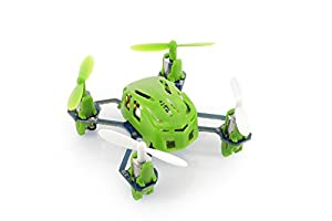 BOOMYOURS Super Mini Hubsan NANO Q4 H111 45mm/ 11.5g Quad Copter 4-Channel RC Quadcopter with 2.4Ghz Radio System