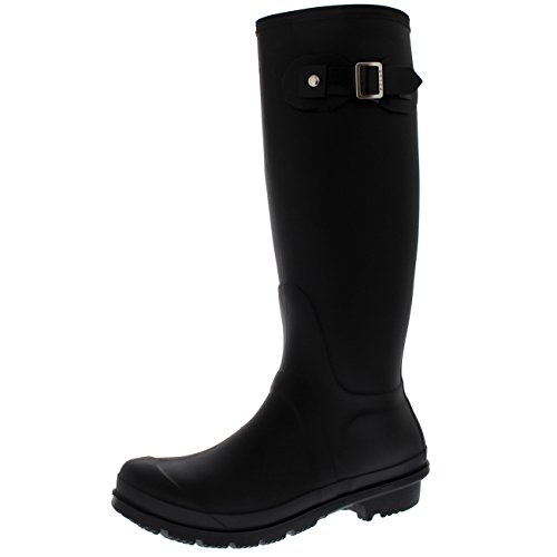 Polar Boot Womens Original Tall Side Buckle Dog Walking Snow Rain Waterproof Wellington Boot