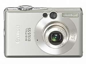 Canon Digital IXUS 55 Digital Camera [5MP, 3 x Optical Zoom]