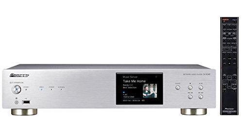 Pioneer N-50AE-S Netzwerkspieler mit Integriertem Airplay, Hires Audio, FireConnect für Multi-Room Wiedergabe, Internetradio Silber